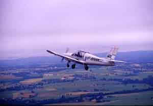 Type d'avion utilisé lors des prospections aériennes (cl. Bizien)